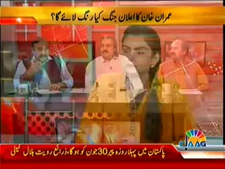 Islamabad Se (Did Tsunami And Revolution Becomes One Thing-) – 28th June 2014