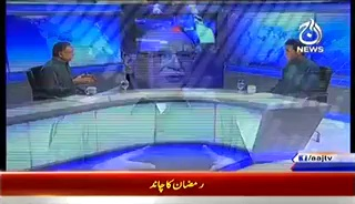 Live with Talat (Exclusive Interview With Senater Pervez Rasheed) – 28th June 2014